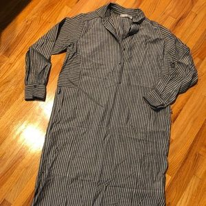 Vince Midi Loose Fit Dress